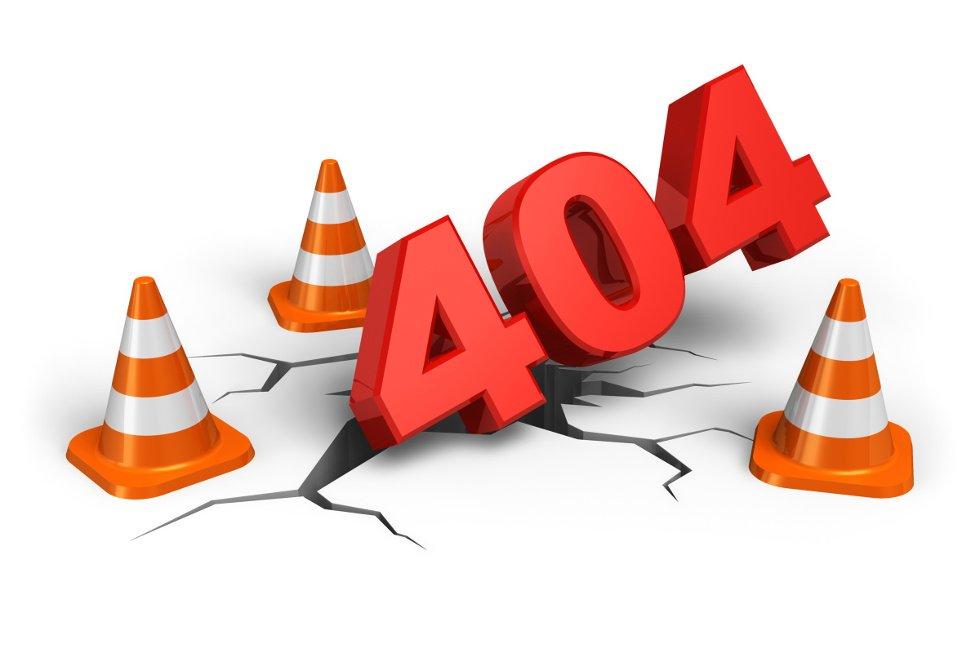 404 - страница не найдена