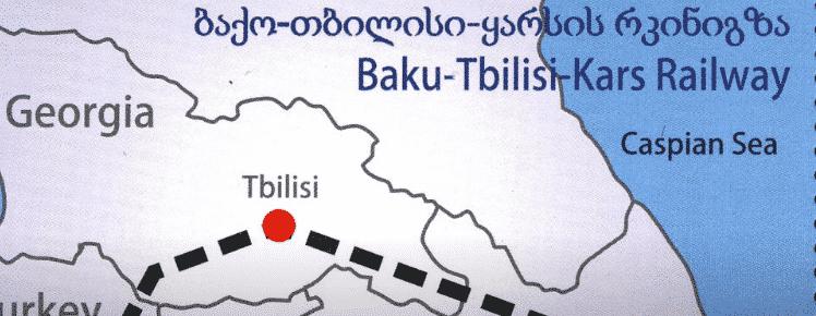 Новая железная дорога Китай - Турция