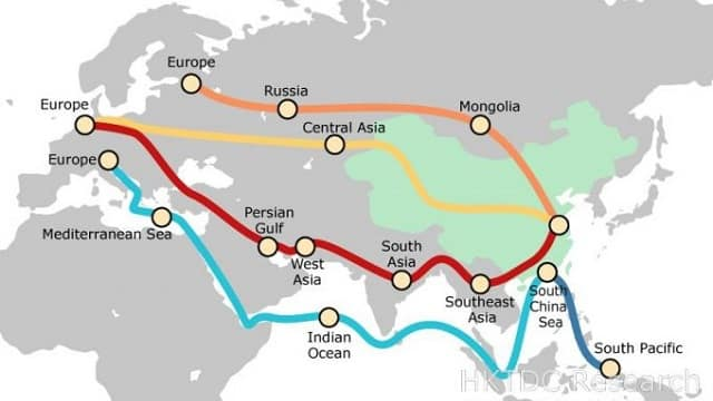 Одна дорога - Экспорт из Китая на Запад