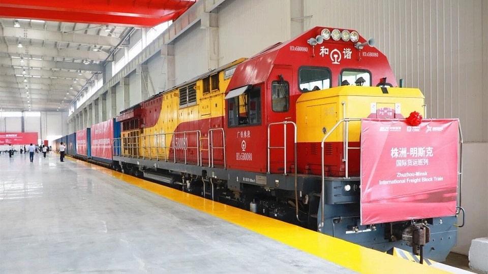 Китай запускает новый контейнерный поезд в Беларусь